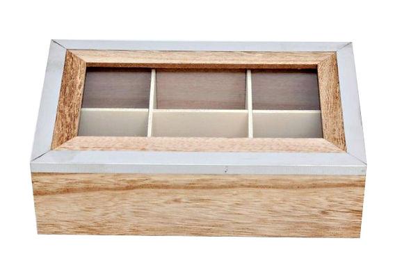 Tea Box with Glass Lid