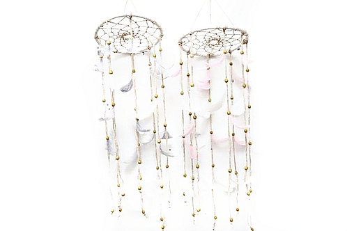Feather Dreamcatcher Mobile