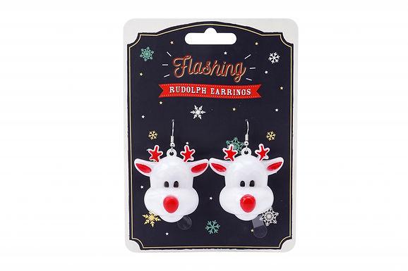Christmas Reindeer Earring
