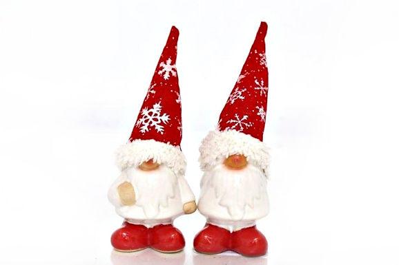 Santa with Fabric Hat