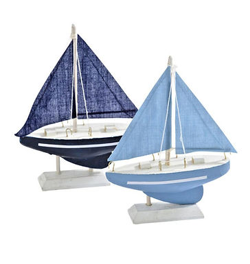 Small Wooden Yacht