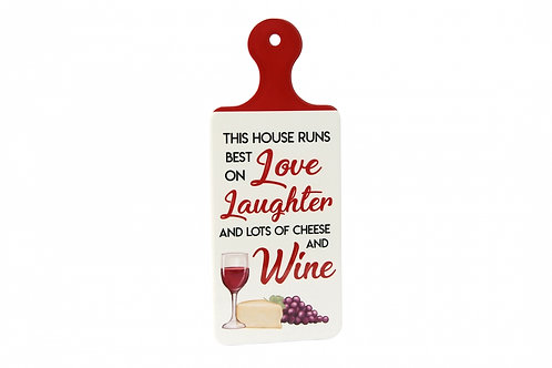 Wine Board Sign