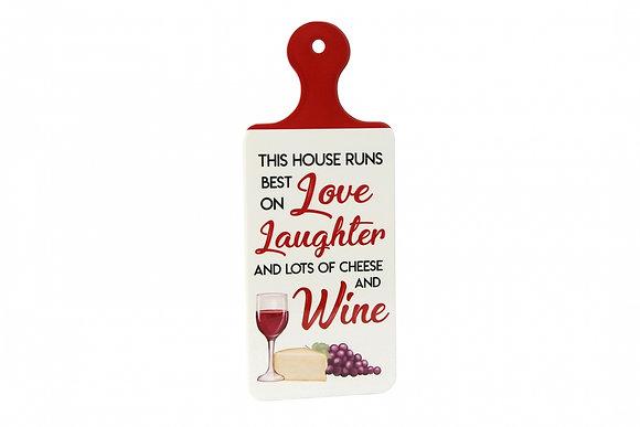 Wine Board Sign