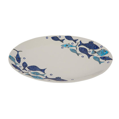 Oval Fish Plate