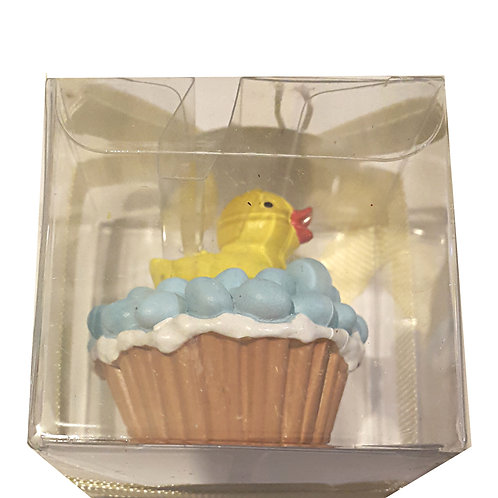 Duck Bubble Cake Candle