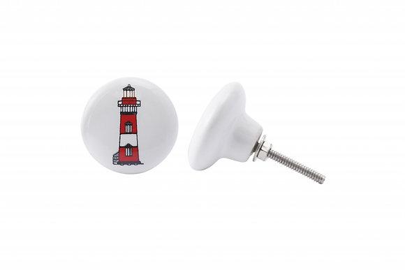 Lighthouse Ceramic Drawer Pull