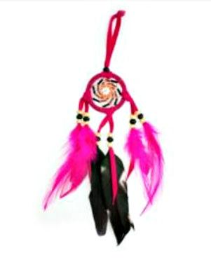 Pink Black Dreamcatcher