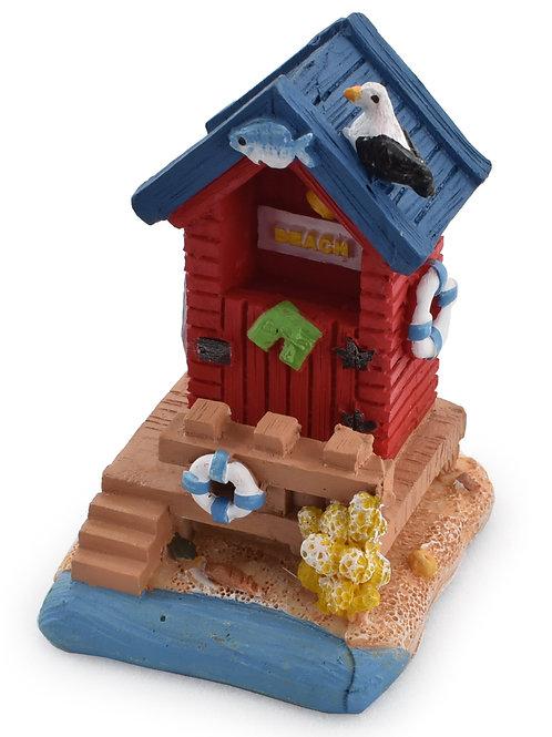 Small Resin Beach Hut