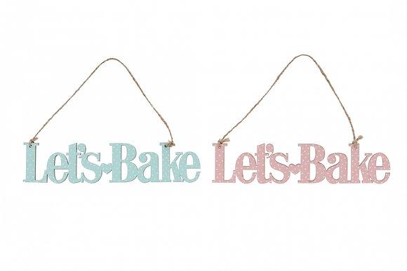 Lets's Bake Tag