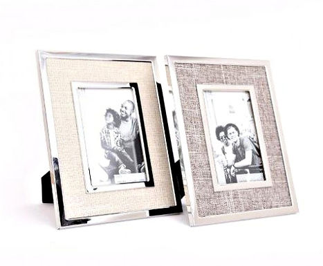 Canvas Silver Frame