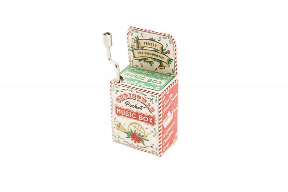 Christmas Wind Up Music Box