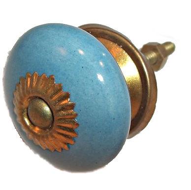 Small Round Ceramic Drawer Pull