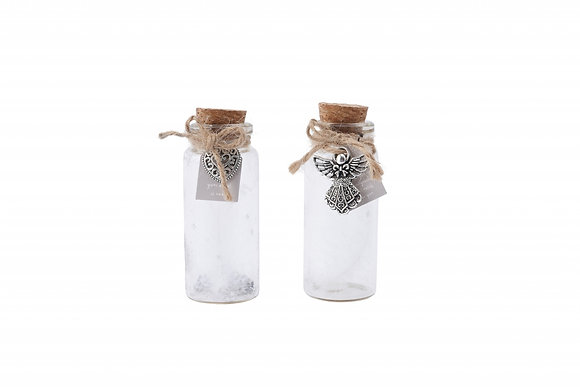 Mini Bottle with Feather