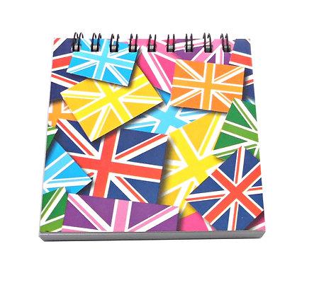 Union Jack Mini Notebook