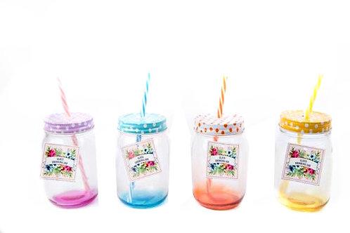Bright Drinking Jar