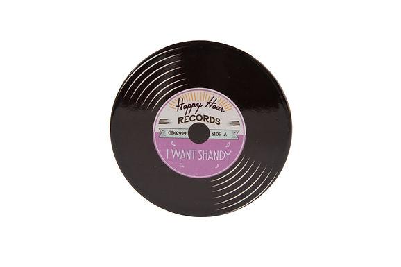 Ceramic Record Coaster
