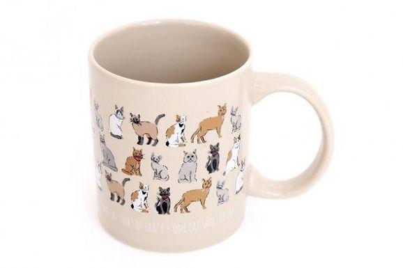Crtazy Cat Mug