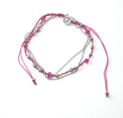 Beaded Cord Anklet