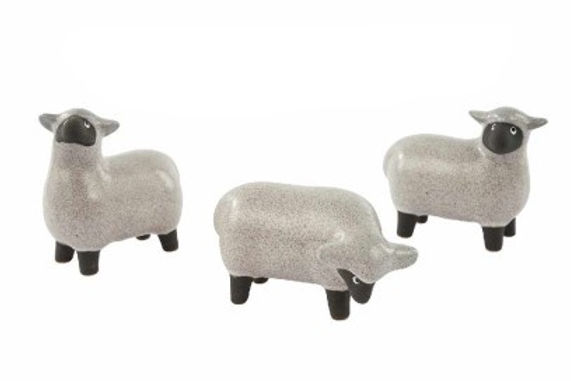 Ceramic Speckle Sheep