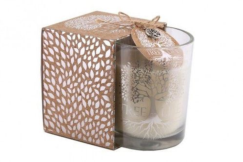 Candle In Glass Pot