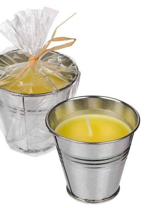 Citronella Candle in Bucket