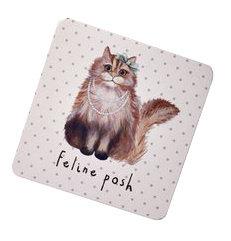 Posh Cat Coaster