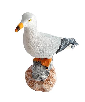 Resin Seagull on Rock