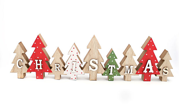 Christmas Trees Wooden