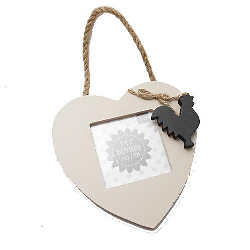 Cockerel Heart Frame