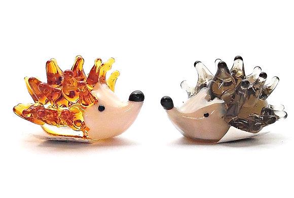 Glass Hedgehogs