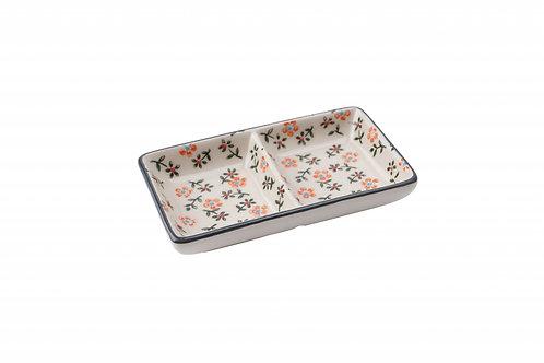 Floral Ceramic Dish