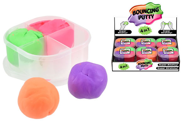 Bright Bouncing Putty