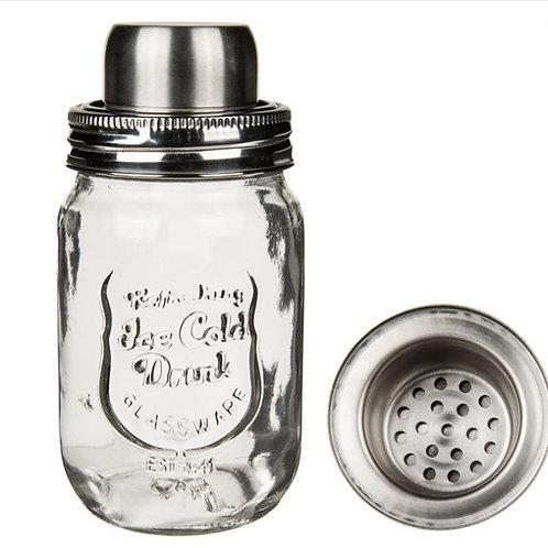 Cocktail Shalker Drinking Jar