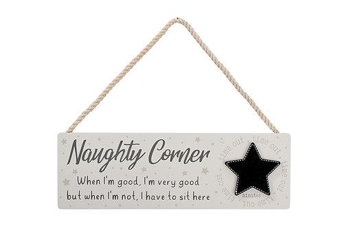 Naughty Corner Sign