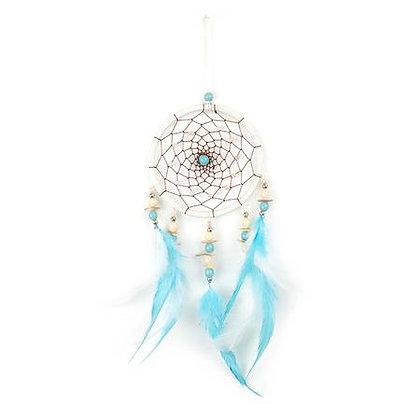 White Turquoise Dreamcatcher