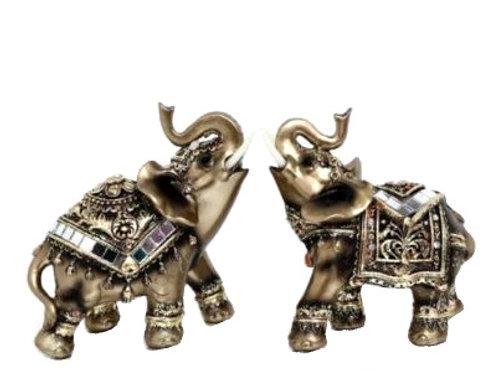 Bronze Look Elephant