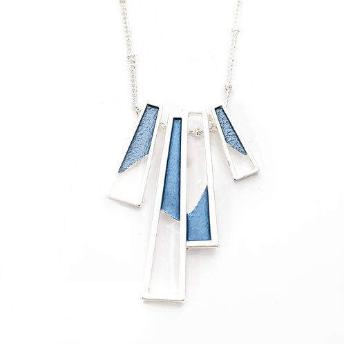 Abstract Bars Necklace