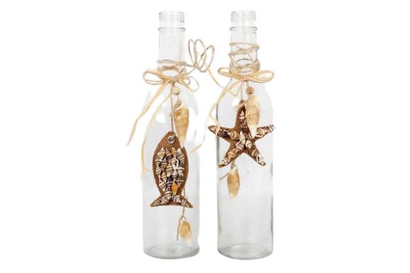 Glass Nautical Bottle