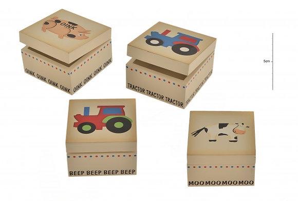 Wooden Farm Box