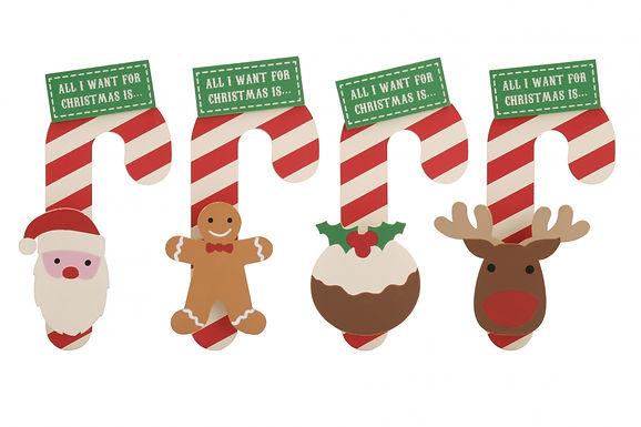 Christmas Peg Candy Hanger