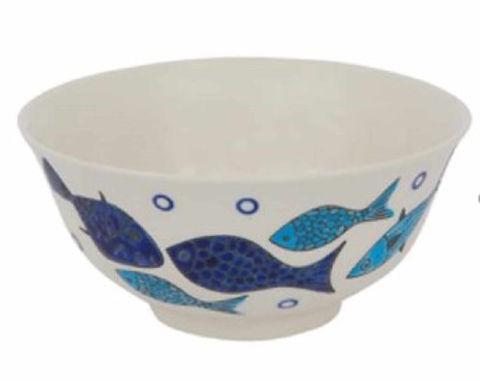 Small Ceramic Fish Bowl