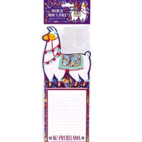 Llama Memo Pad
