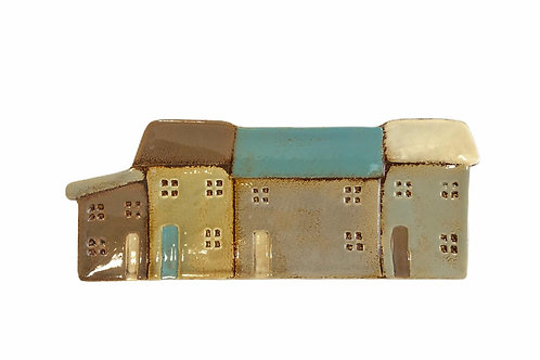 Ceramic Cottages Plate