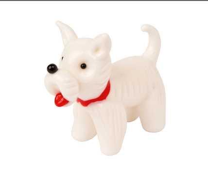 Glass Scottie Dog