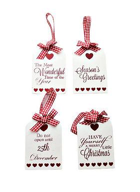 Hanging Christmas Tag