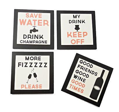 Drinks Motto Coaster