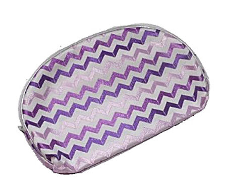 Chevron Make Up Bag