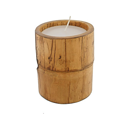 Bamboo Candle Small
