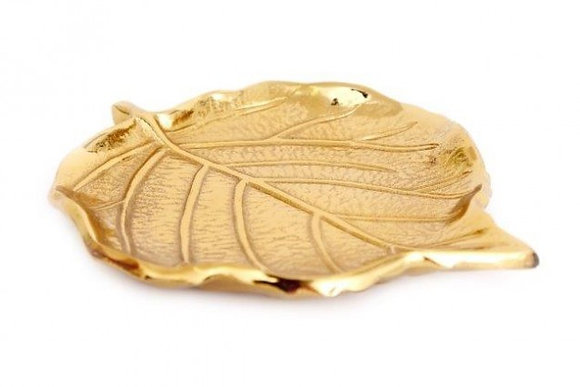 Gold Leaf Plate