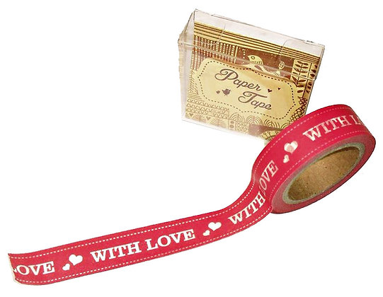 With love sticky tape